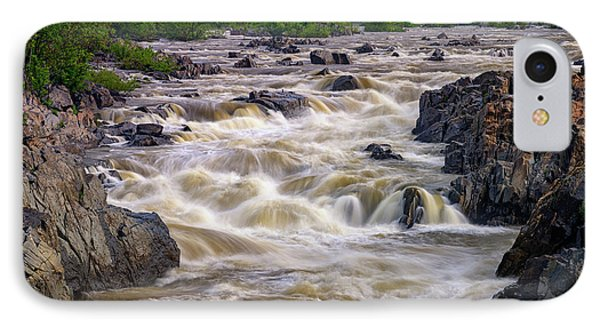 Great Falls Of The Potomac River IPhone Case by Rick Berk