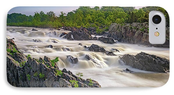 Great Falls IPhone Case by Rick Berk