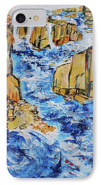 Great Falls Waterfall 201754 Phone Case by Alyse Radenovic