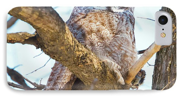 Great Gray Owl IPhone 7 Case by Ricky L Jones