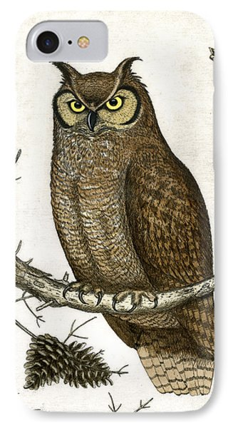 Great Horned Owl Phone Case by Charles Harden