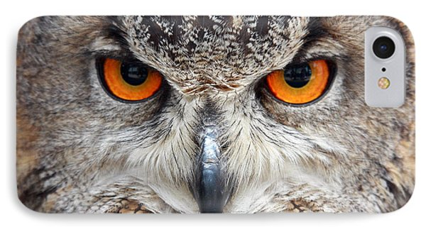 Great Horned Owl IPhone Case by Pierre Leclerc Photography
