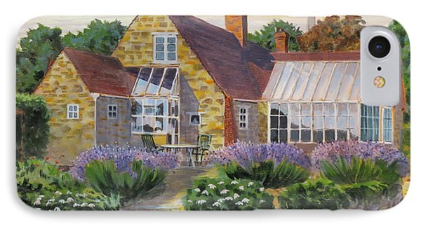 Great Houghton Cottage IPhone Case by David Gilmore