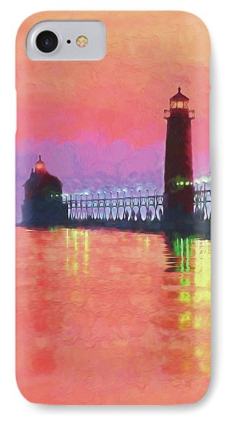 Great Lakes Light IPhone Case by Dennis Cox WorldViews