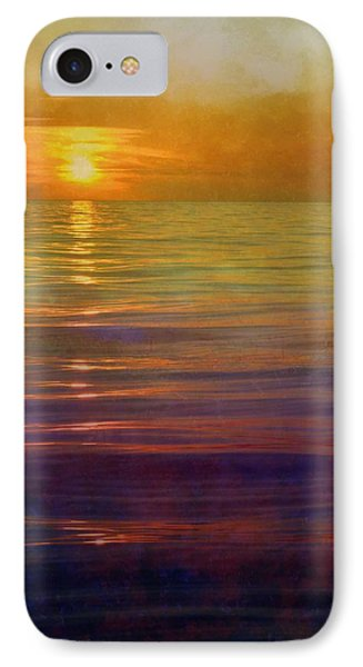 IPhone Case featuring the digital art Great Lakes Setting Sun by Michelle Calkins