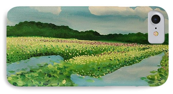 Great Meadows IPhone Case by Sarah Iwany