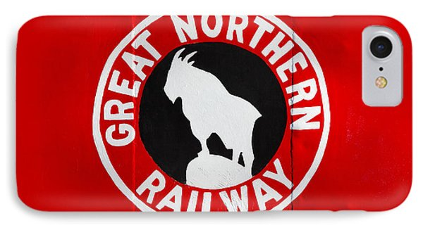 Great Northern Caboose IPhone Case by Todd Klassy