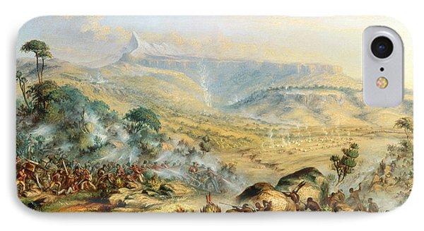 Great Peak Of The Amatola-british-kaffraria  Phone Case by Thomas Baines