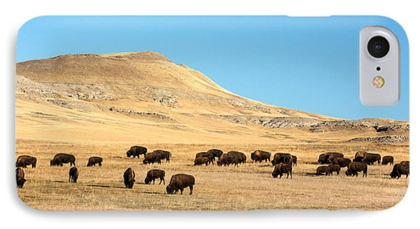 Great Plains Buffalo IPhone 7 Case by Todd Klassy
