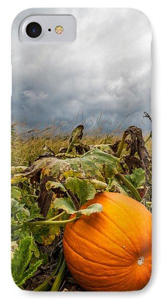 Great Pumpkin Off Center IPhone Case