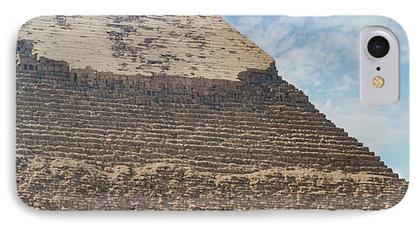 IPhone Case featuring the photograph Great Pyramid Of Giza by Silvia Bruno