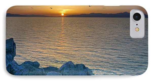 Great Salt Lake At Sunset IPhone Case