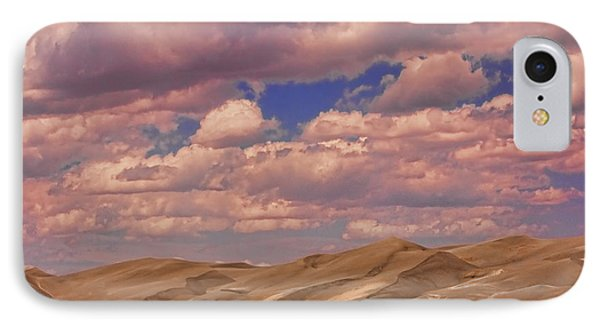Great Sand Dunes And Great Clouds Phone Case by James BO  Insogna
