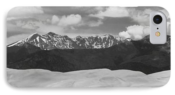 Great Sand Dunes Panorama 1 Bw Phone Case by James BO  Insogna