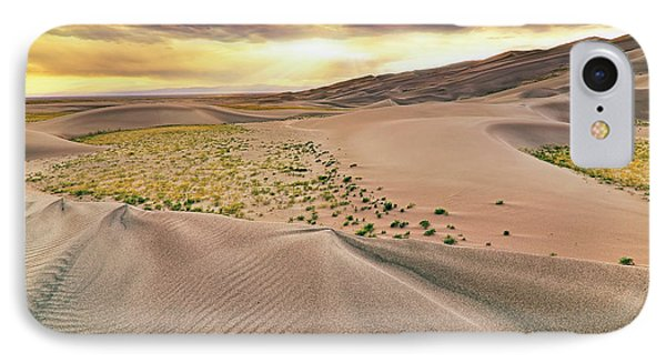 IPhone Case featuring the photograph Great Sand Dunes Sunset - Colorado - Landscape by Jason Politte