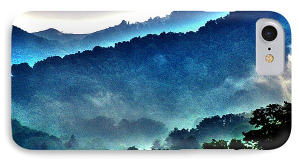 Great Smokey Mountains Phone Case by Susanne Van Hulst