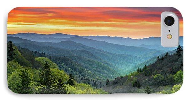 Great Smoky Mountains National Park Gatlinburg Tn Scenic Landscape IPhone Case