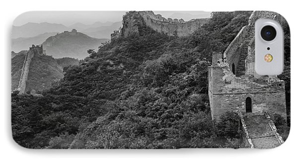 IPhone Case featuring the photograph Great Wall 3, Jinshanling, 2016 by Hitendra SINKAR