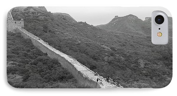 IPhone 7 Case featuring the photograph Great Wall 4, Jinshanling, 2016 by Hitendra SINKAR