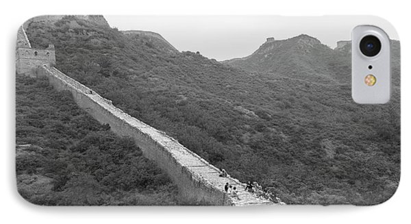 IPhone Case featuring the photograph Great Wall 4, Jinshanling, 2016 by Hitendra SINKAR