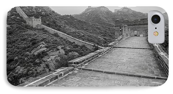 IPhone 7 Case featuring the photograph Great Wall 5, Jinshanling, 2016 by Hitendra SINKAR