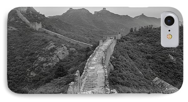 IPhone Case featuring the photograph Great Wall 6, Jinshanling, 2016 by Hitendra SINKAR