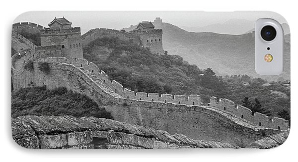 Great Wall 7, Jinshanling, 2016 IPhone 7 Case by Hitendra SINKAR
