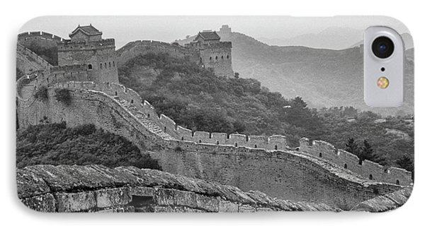 Great Wall 7, Jinshanling, 2016 IPhone Case by Hitendra SINKAR