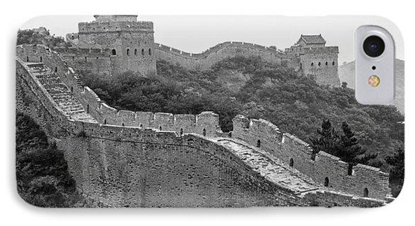 IPhone 7 Case featuring the photograph Great Wall 8, Jinshanling, 2016 by Hitendra SINKAR