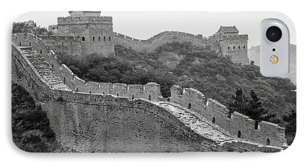 IPhone Case featuring the photograph Great Wall 8, Jinshanling, 2016 by Hitendra SINKAR
