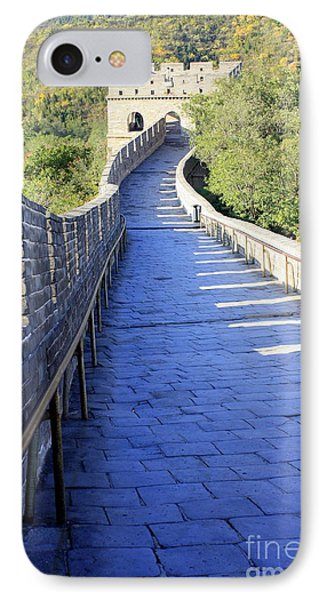 Great Wall Pathway IPhone Case by Carol Groenen