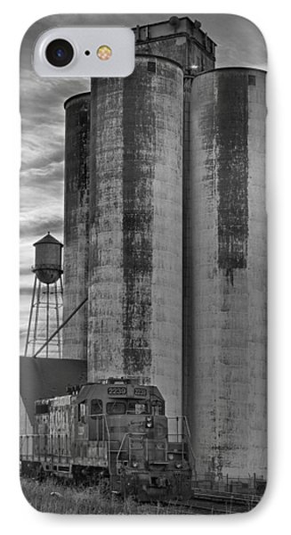 Great Western Sugar Mill Longmont Colorado Bw Phone Case by James BO  Insogna