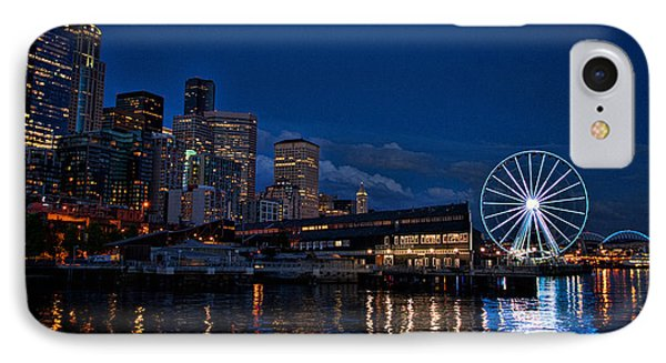 Great Wheel IPhone Case by Jerry Cahill