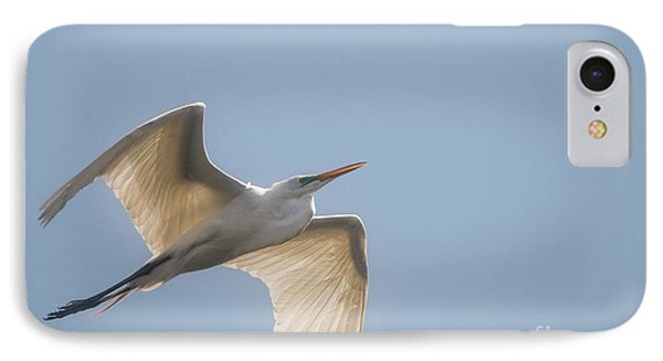 IPhone Case featuring the photograph Great White Egret - 2 by David Bearden