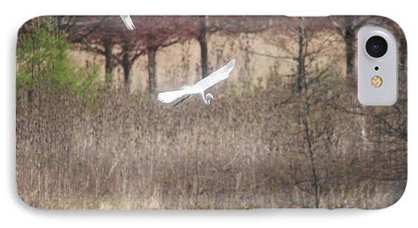 IPhone Case featuring the photograph Great White Egret - 3 by David Bearden