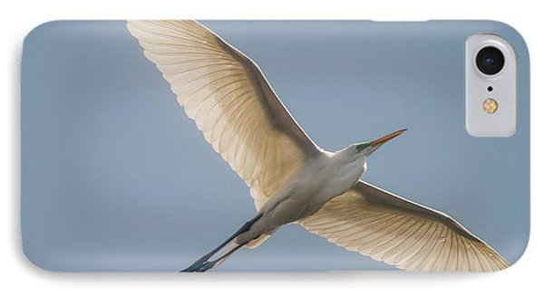 IPhone Case featuring the photograph Great White Egret by David Bearden