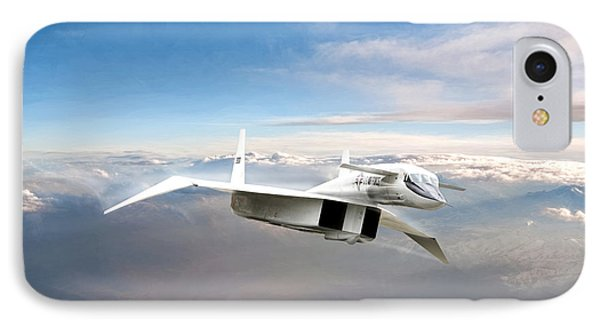 Great White Hope Xb-70 IPhone Case by Peter Chilelli