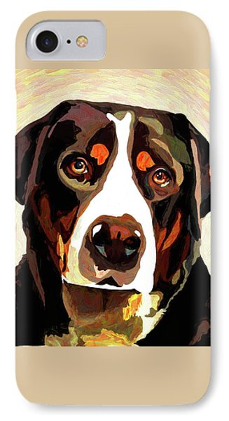 Greater Swiss Mountain Dog IPhone Case