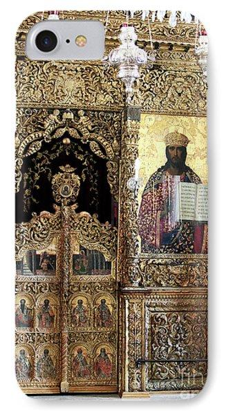 Greek Orthodox Alter Phone Case by John Rizzuto