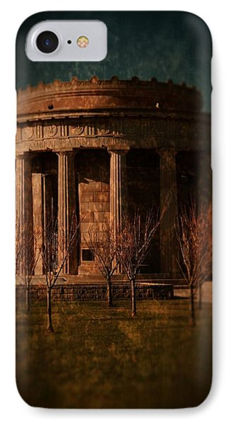 Greek Temple Monument War Memorial Phone Case by Angie Tirado