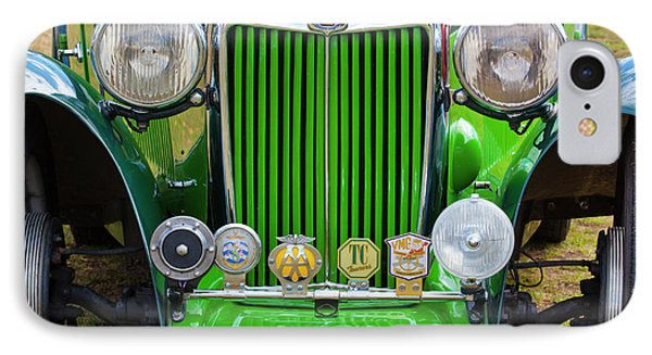 IPhone Case featuring the photograph Green 1948 Mg Tc by Chris Dutton