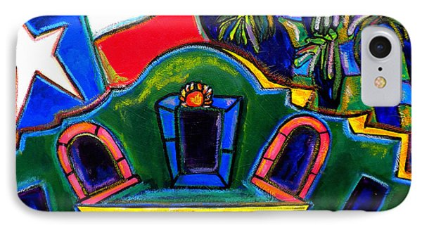 Green Alamo Phone Case by Patti Schermerhorn