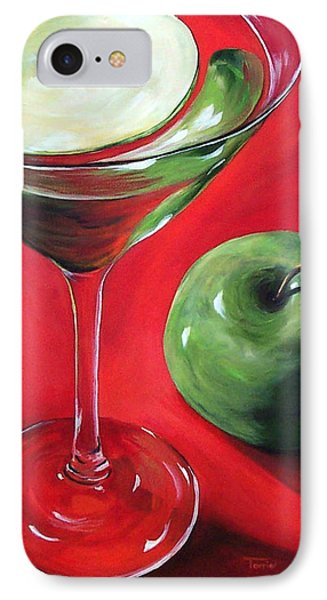 Green Apple Martini Phone Case by Torrie Smiley