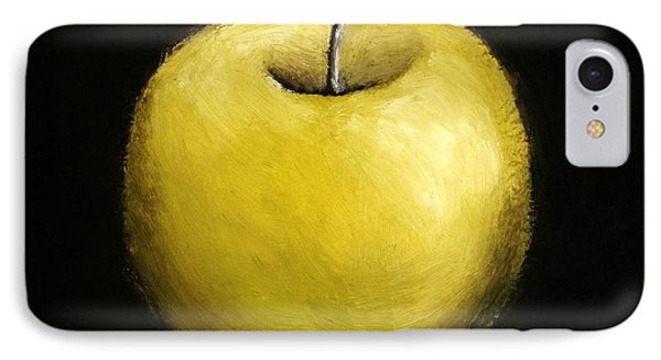 Green Apple Still Life 2.0 IPhone Case by Michelle Calkins
