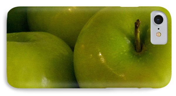 Green Apples 2 Phone Case by Fanny Diaz