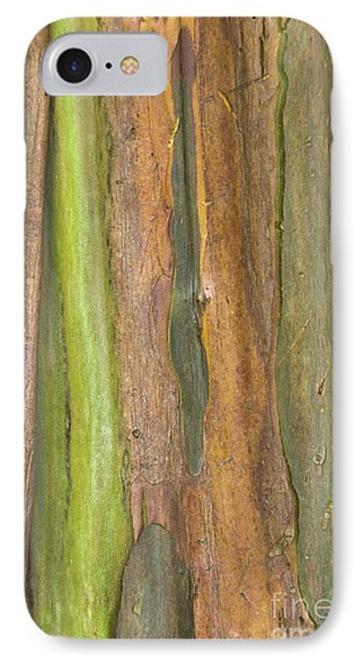 IPhone Case featuring the photograph Green Bark 3 by Werner Padarin