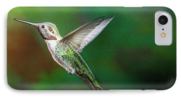 Green Beauty IPhone Case by David Millenheft