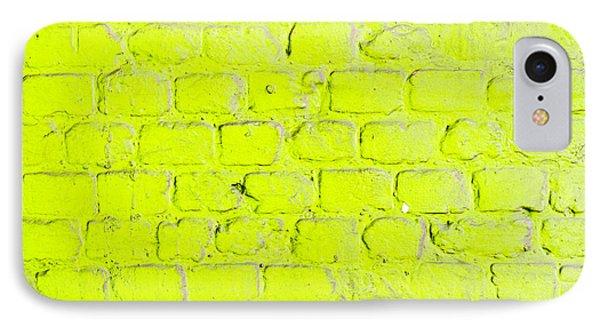 Green Brick Wall IPhone Case