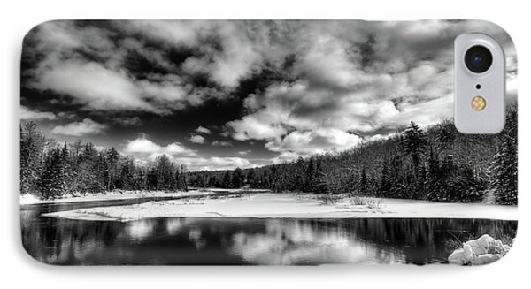 IPhone 7 Case featuring the photograph Green Bridge Solitude by David Patterson