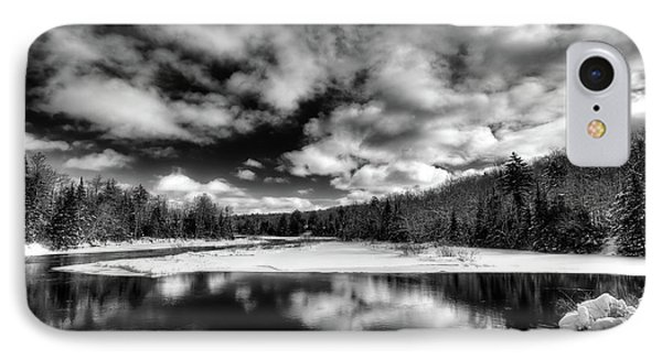 IPhone Case featuring the photograph Green Bridge Solitude by David Patterson